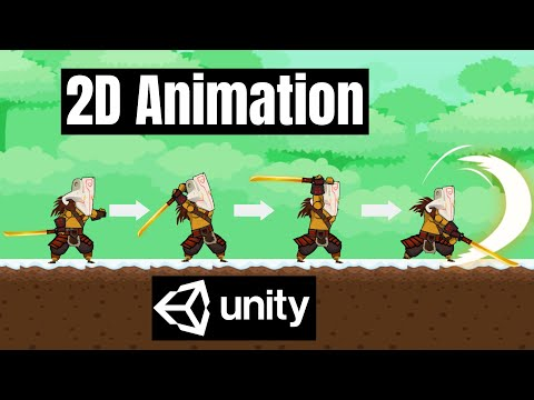 How To Create 2D Animation in Unity - Game Development Beginner Tutorial thumbnail