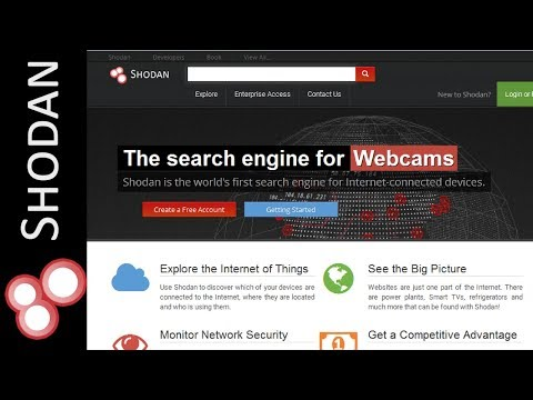 Shodan Search Engine Tutorial - Access Routers,Servers,Webcams + Install CLI