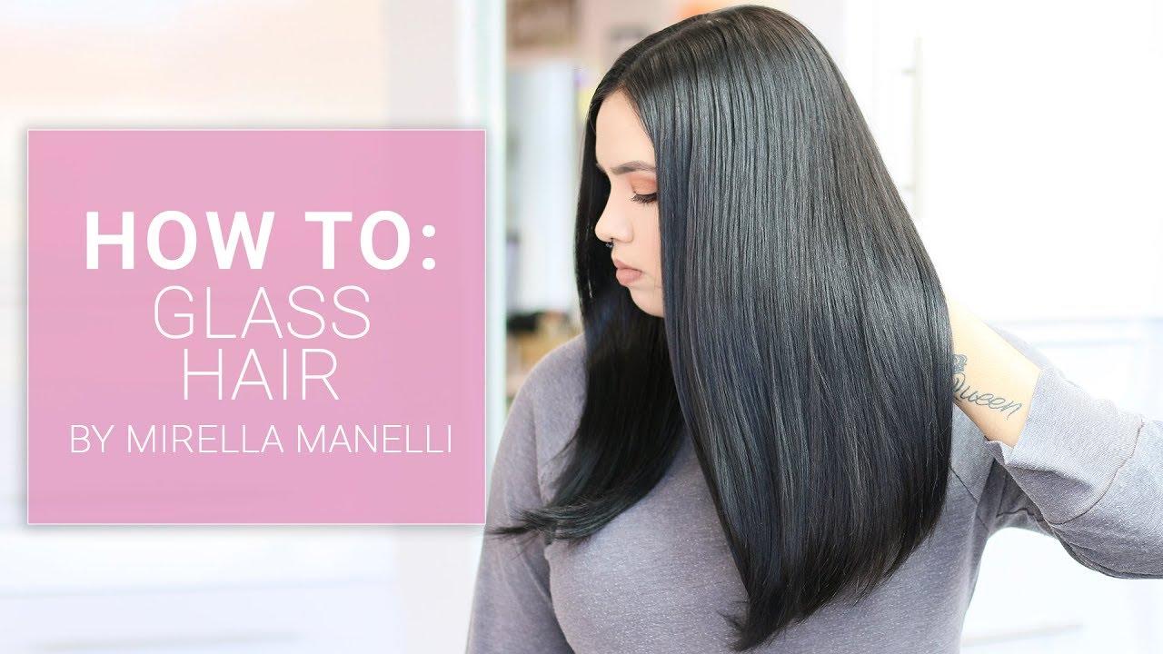 Glass Hair Tutorial By Mirella Manelli Kenra Platinum Youtube