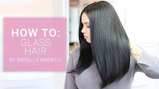 Glass Hair Tutorial by Mirella Manelli   Kenra Platinum