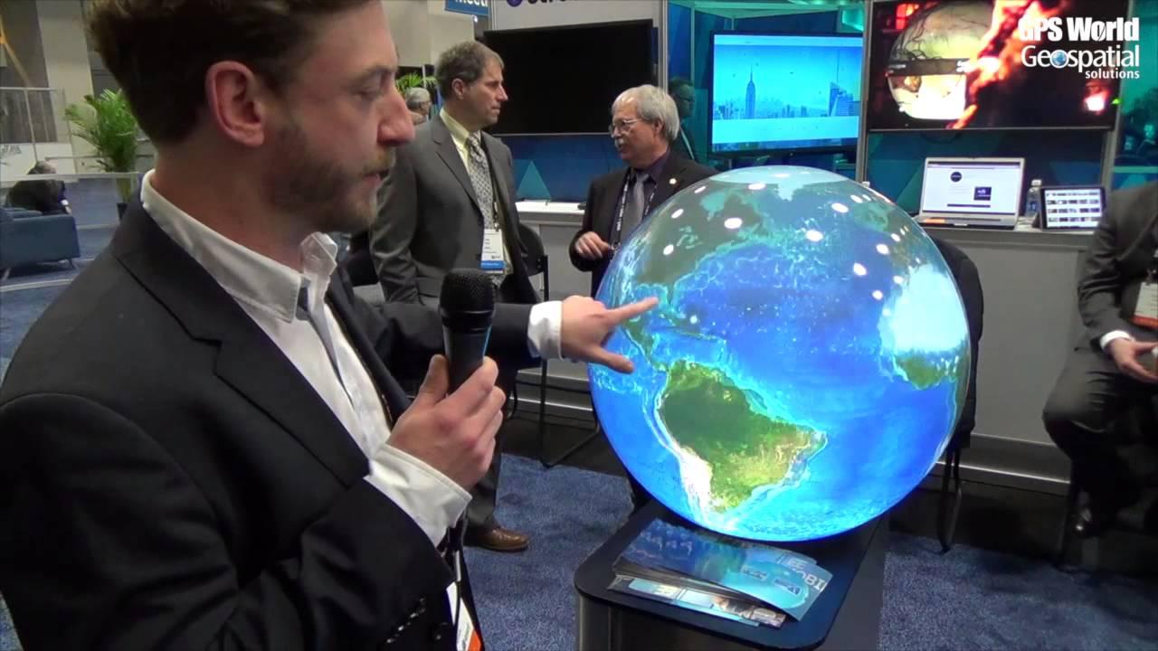 Pufferfish Spherical Display System Integrates Esri Arcgis