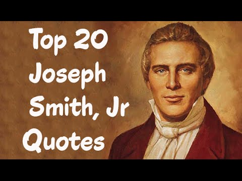 Top 60 Joseph Smith Jr Quotes Author Of The Book Of Mormon YouTube Best Book Of Mormon Quotes