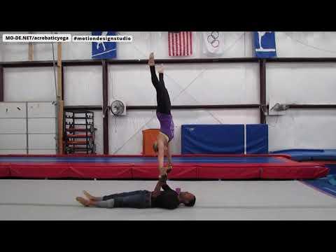 Partner Acrobatics Practice Session