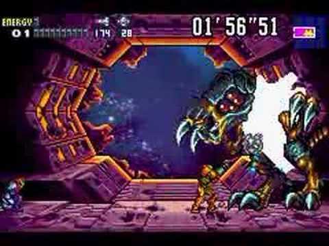 Metroid Fusion Final Boss Battle Ending