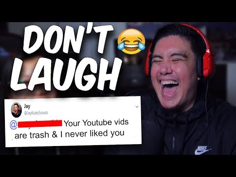 YOU LAUGH, YOU MAKE REGRETTABLE TWEETS YOU CANT TAKE BACK | Try To Make Me Laugh