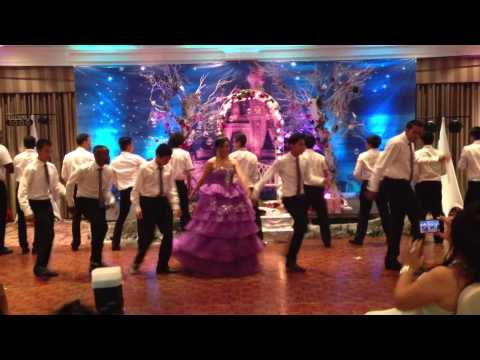 Sweets 18 Roses Dance