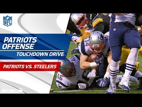 New England Marches Down the Field on Big TD Drive! | Patriots vs. Steelers | NFL Wk 15 Highlights