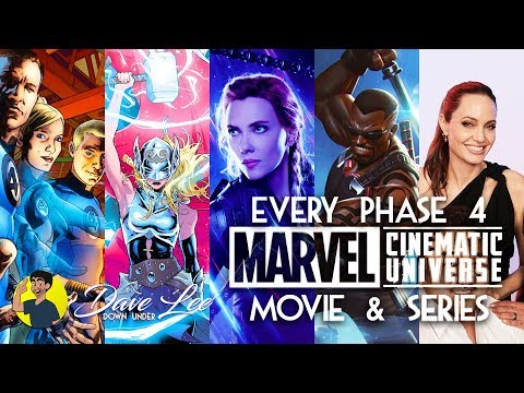 Every MARVEL MCU Phase 4 Movie - Announced & Explained (Comic Con 2019)
