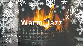 Christmas Silent Jazz Playlist - Smooth Winter Jazz Music with Fireplace