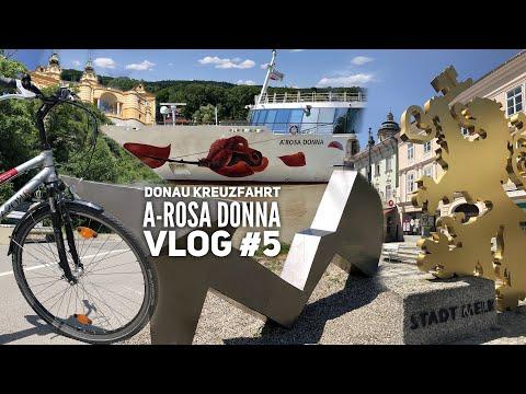 Donau Kreuzfahrt mit A-Rosa - Vlog #5: Fahrradtour zum Stift Melk