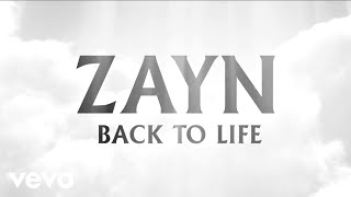 ZAYN Back To Life (Audio)