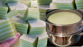 HOW To Make Steamed Layer Cake ເຂົ້າຫນົມຊັ້ນ