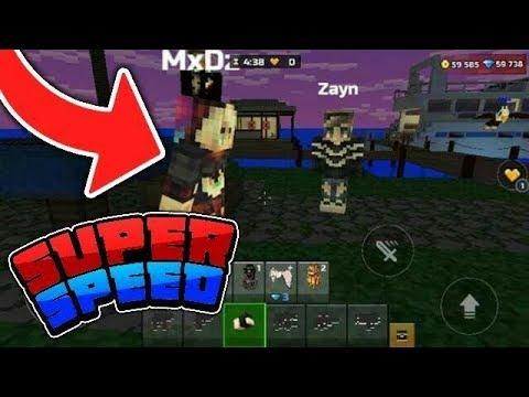 PIXEL GUN 3D SUPER SPEED MOD!!