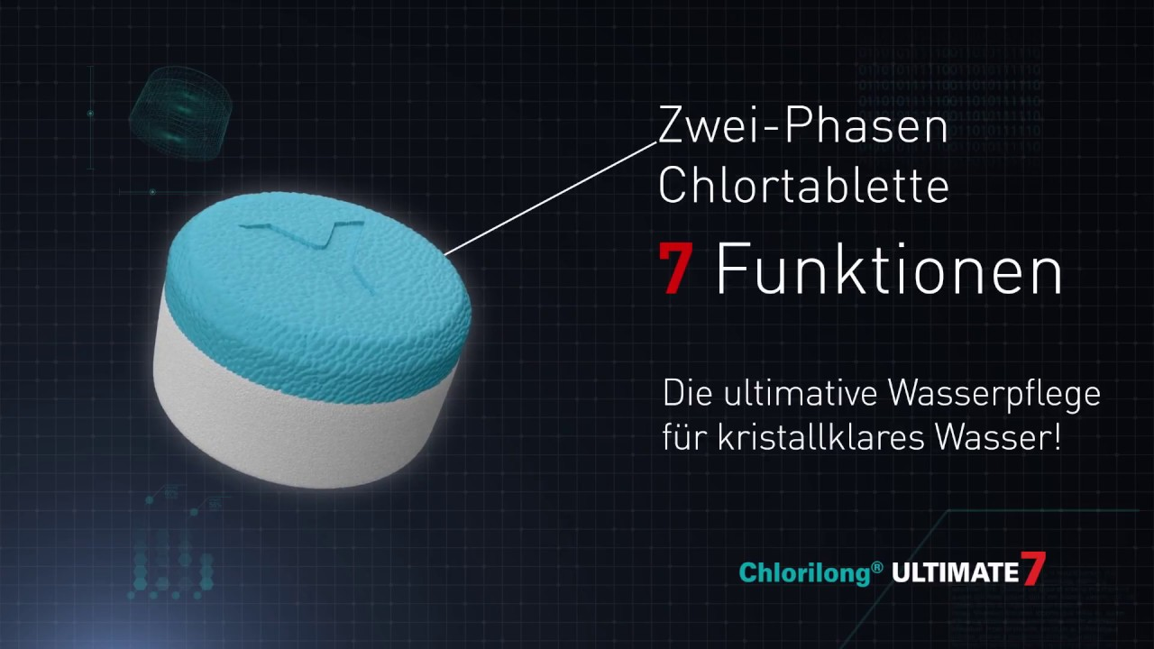 Chlortabletten Mini Pool Chlorilong Ultimate 7 Die Beste Chlortablette Für Ihren Pool