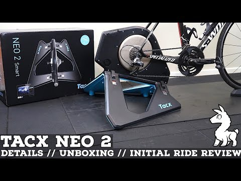 TACX NEO 2 Smart Trainer: Details // Unboxing // Initial
