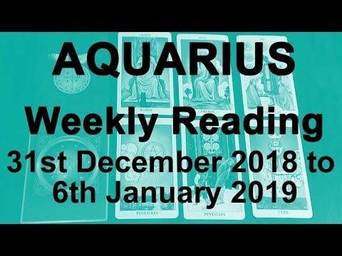 aquarius weekly tarot december 6 2019