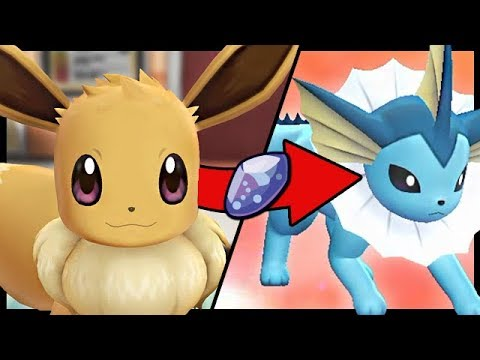 What Happens If You Force Your Starter To Evolve in Lets Go Pikachu And Eevee?