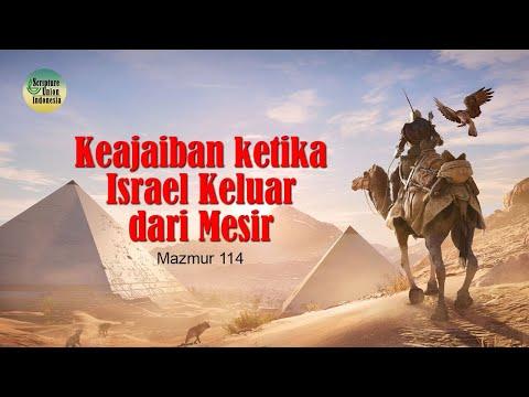 Keajaiban Ketika Israel Keluar Dari Mesir
