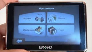 lEXAND Si-515 PRO HD - видеообзор ( si 515 ) от Globex-gps.ru