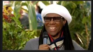 Nile Rodgers & Duran Duran on the BBC One Show 4/6/16