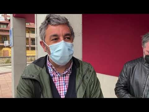 VÍDEO Visita del consejero Alejandro Calvo a Benia de Onís