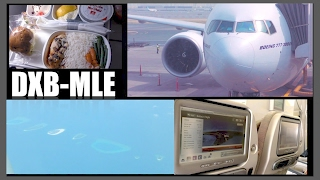 Trip Report: Emirates Ek652   Dubai To Male (full Flight Review)