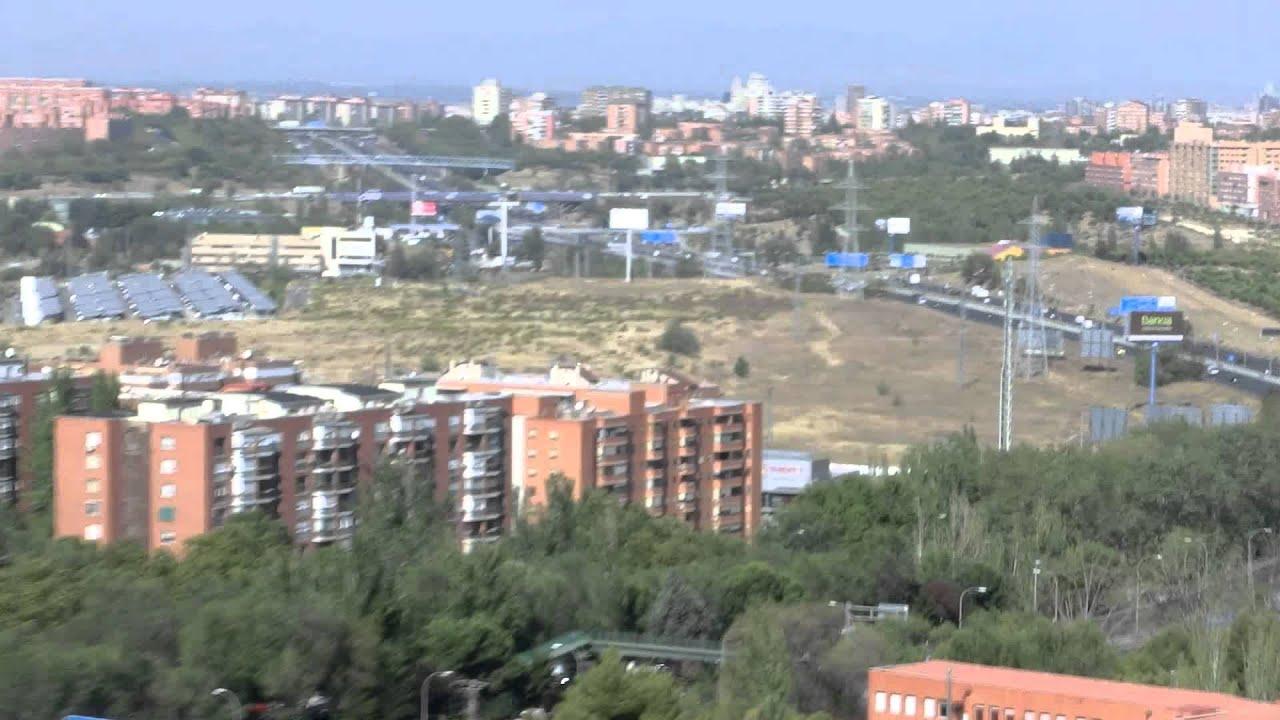 Vistas panor micas de madrid desde el cerro almod var - Pisos en santa eugenia madrid ...