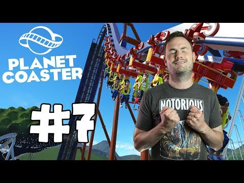 Sips Plays Planet Coaster (18/6/2018) - #7 - Hotel Rooms