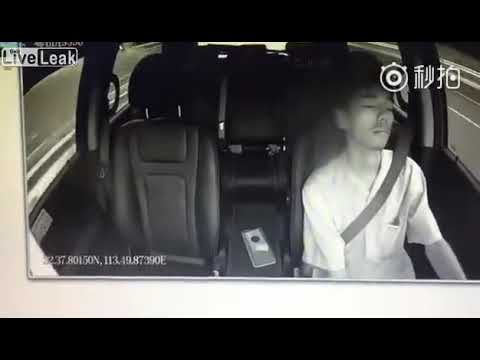 Liveleak  - Driving while asleep