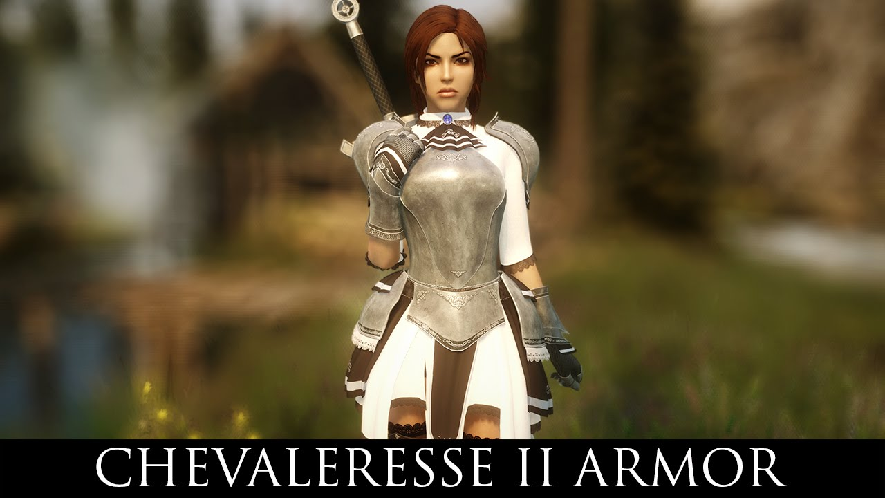 TES V - Skyrim Mods: Chevaleresse II Armor for UNP by Yurica