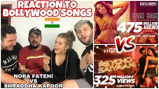 German Friends react the FIRST TIME to NORA FATEHI