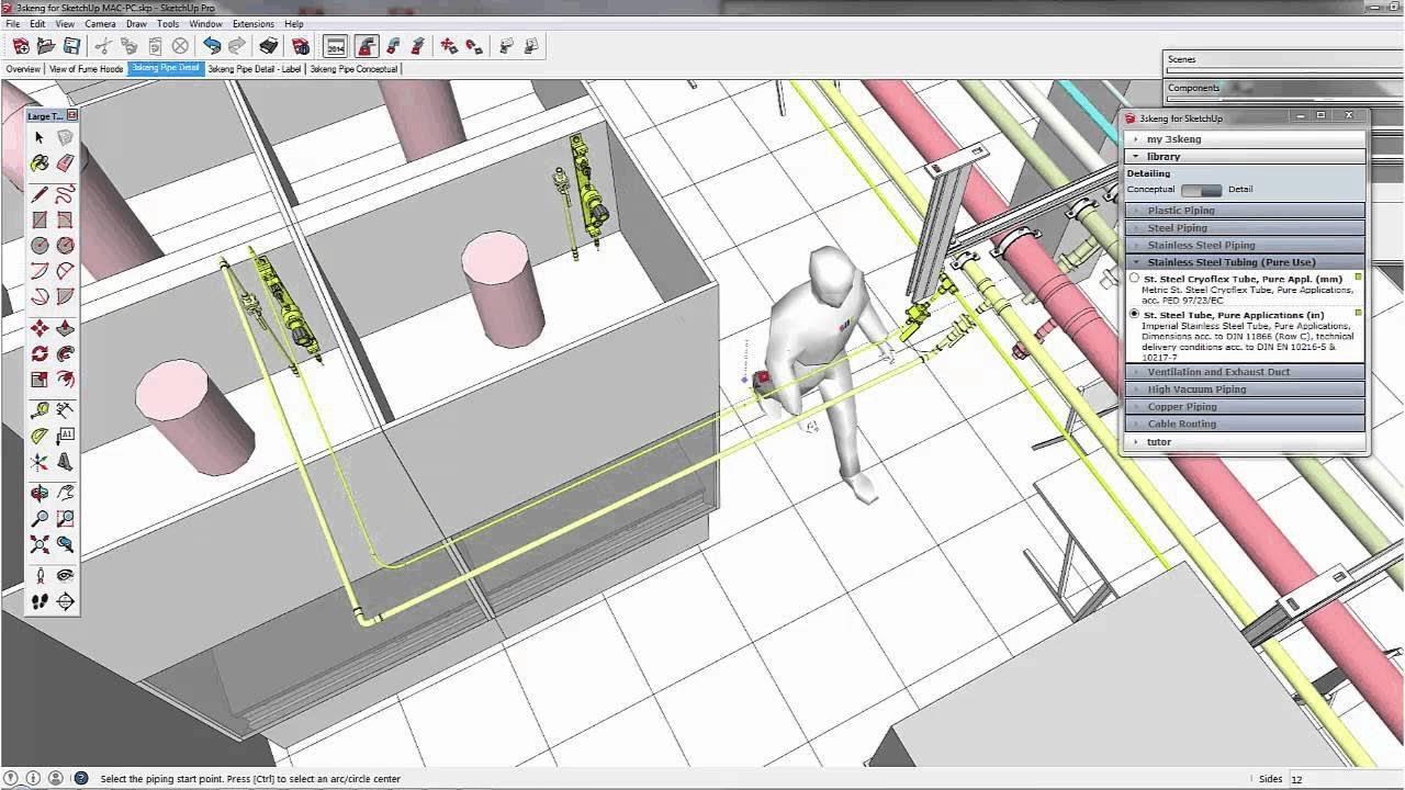 sketchup 3skeng extension youtube gas piping diagram gas piping diagram gas piping diagram gas piping diagram
