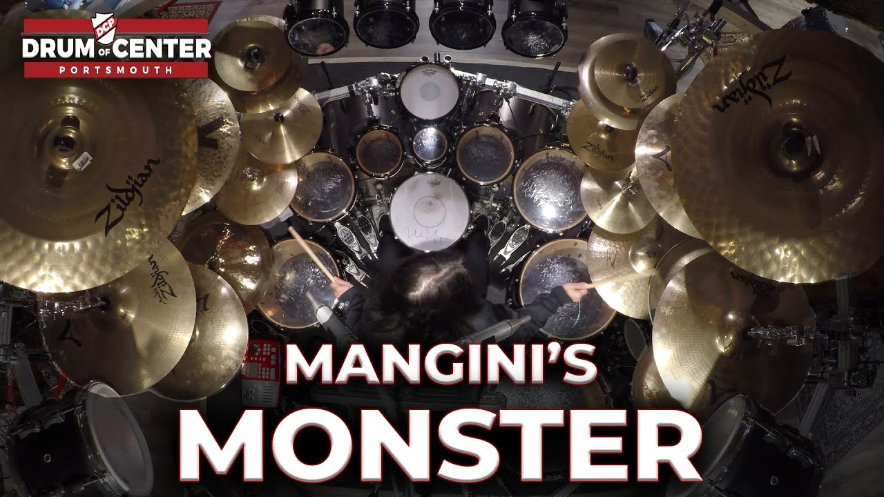 Download Mike Mangini's Monster Pearl Masterworks Drum Set - DCP Exclusive Interview
