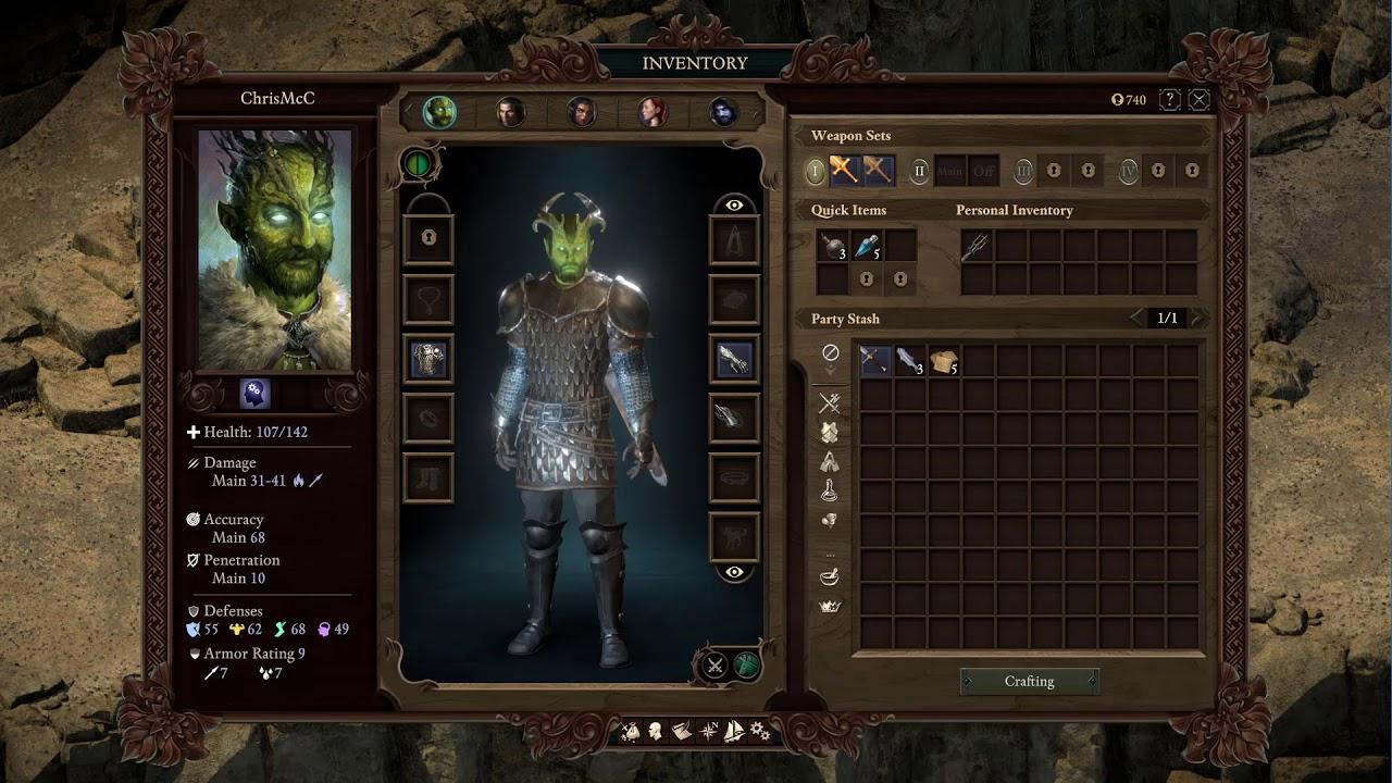 Pillars of Eternity 2 Beta 4 Warden Highlight