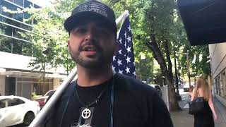 Joey Gibson reacts to findings on texting investigation