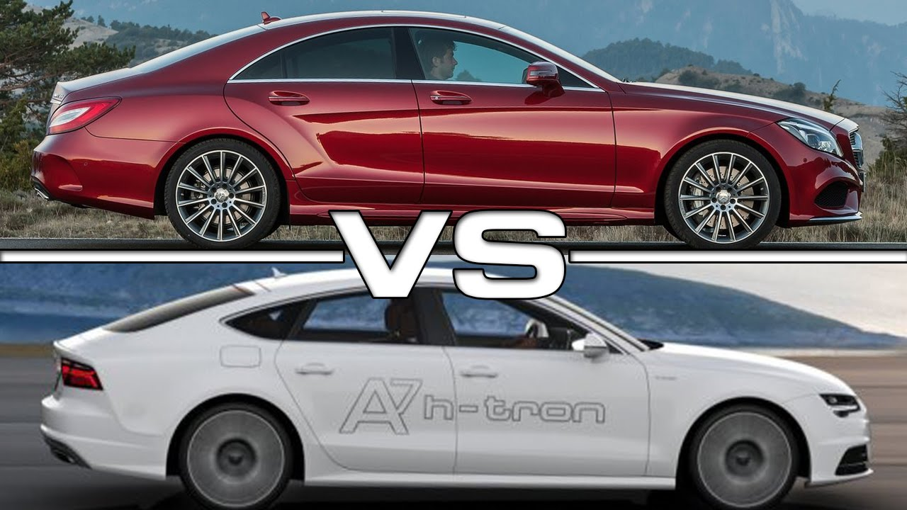 2015 Mercedes-Benz CLS 500 4MATIC Vs 2016 Audi A7
