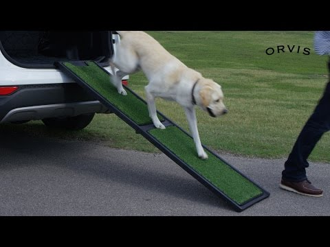 ORVIS - Natural Step Portable Dog Car Ramp