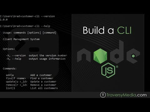 Build A Command Line Interface With Node.js & MongoDB