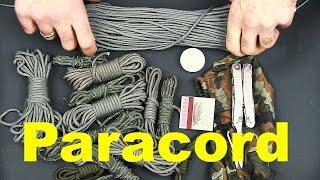 Paracord / Fallschirmleine - Tipps & Tricks | Wanderfalke