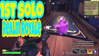 1st solo game realms royal