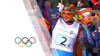 De Zolt & Cross-Country Skiing Relay - Part 5 - The Lillehammer 1994 Olympic Film | Olympic History