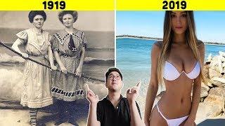 9 thứ phổ biến đã thay đổi không thể tin được trong 100 năm qua !