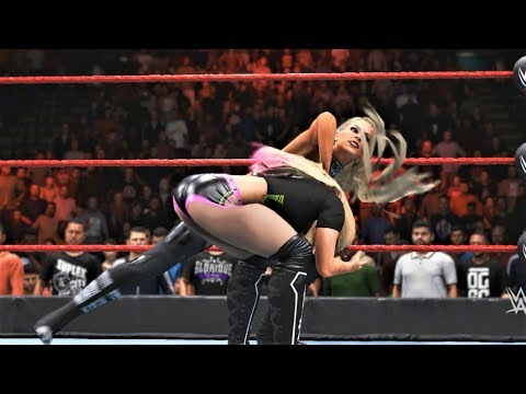 WWE 2K20 - Maryse vs Alexa Bliss.