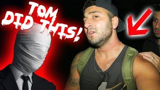 I RETURNED TO TOMS HAUNTED HOUSE AND THIS HAPPENED TO ME! | MOE SARGI