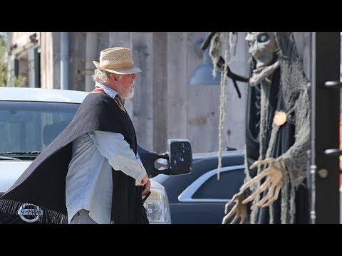 Nick Nolte Is A Malibu Beach Bum For Halloween!