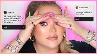 READING YOUR ASSUMPTIONS ABOUT ME.. The Truth! | NikkieTutorials