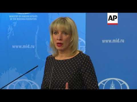 Kremlin spokeswoman: Spy rumours part of anti-Russia media campaign
