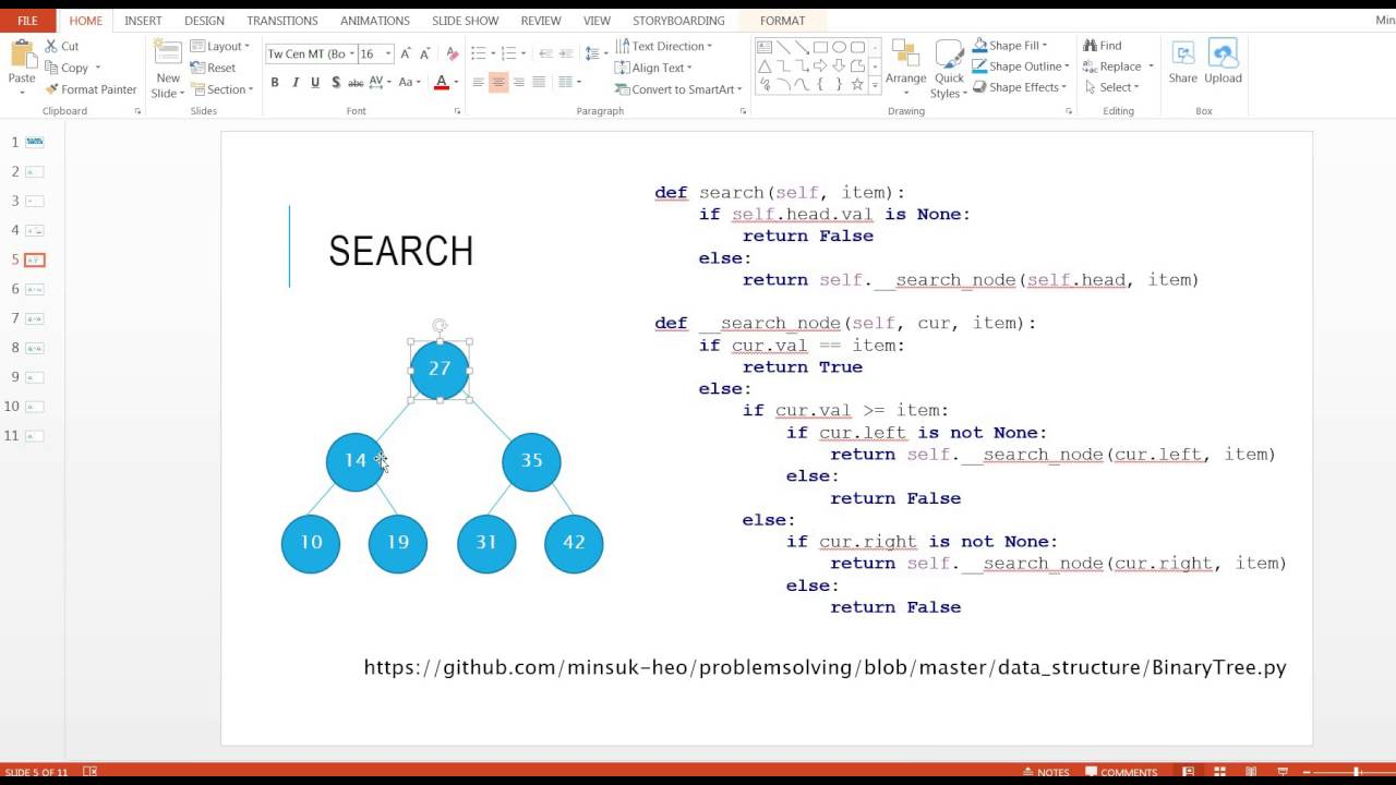 oop - How to implement a binary search tree in Python ...