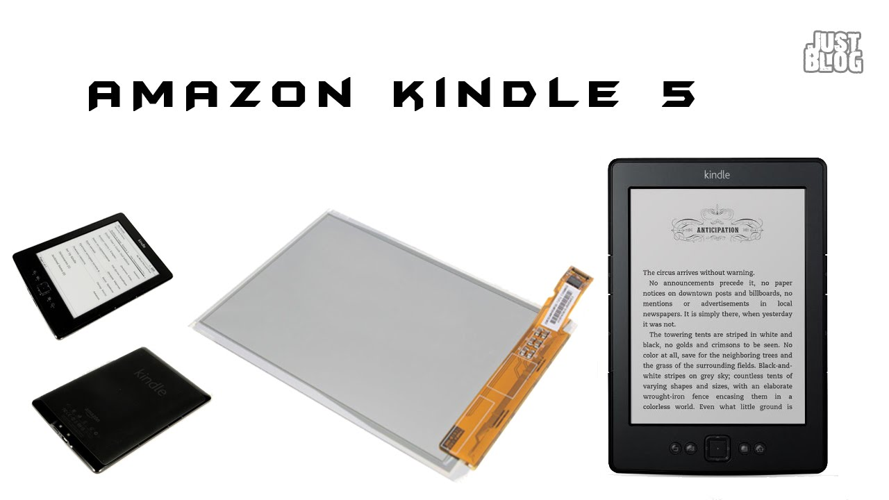 How to Replace Your Amazon Kindle 5 Battery - YouTube