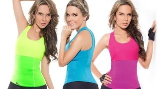 Футболка для похудения HOT SHAPERS. Цвет: синий